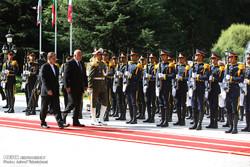 مشاهد من مراسم استقبال رئيس وزراء بلغاريا