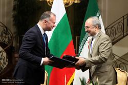 مراسم استقبال رسمی از نخست وزیر بلغارستان