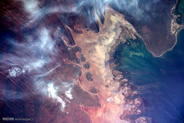 تماشای زیبایی های زمین از فضا
