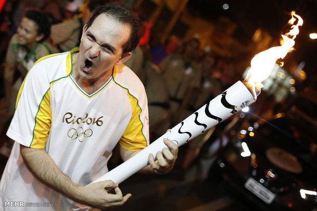 سفر طولانی مشعل المپیک