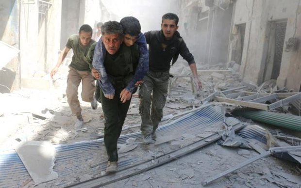 Five civilians killed in terrorist groups' attack in Aleppo