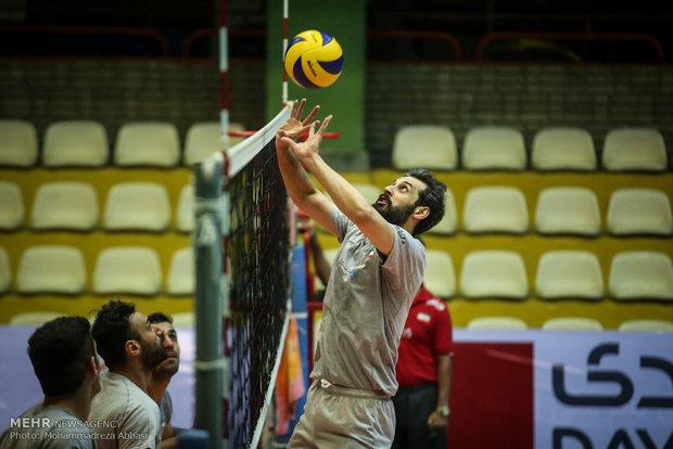 تدريبات المنتخب الايراني للكرة الطائرة استعدادا للمشاركة في دورة الالعاب الاولمبية في ريو دوجانيرو