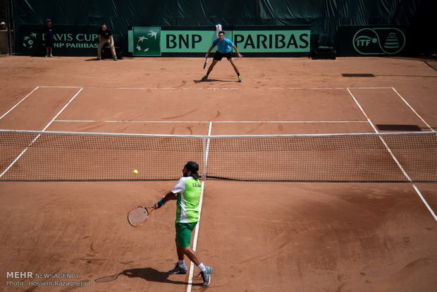 Davis Cup tennis tournament