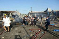 استشهاد اكثر من 25 مدنيا بانفجار سيارة مفخخة شمالي بغداد