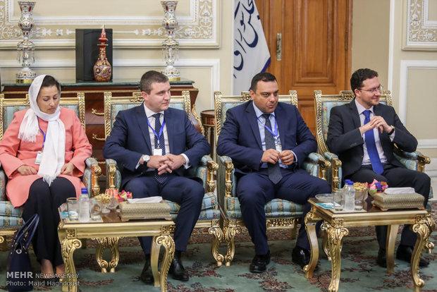 دیدار نخست وزیر بلغارستان با رییس مجلس شورای اسلامی