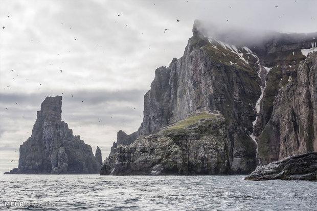 زیبایی های جزایر در سوالبارد