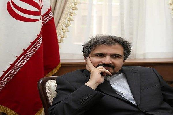 بهرام قاسمي: التصريحات  المنسوبة  لوزير الخارجية الايراني مجرد تفسيرات شخصية