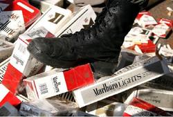 کشف محموله سیگار قاچاق