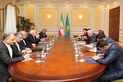 Zarif meets Kazakh counterpart in Astana
