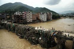 چین میں طوفانی بارشوں سے480 سال پرانا پُل ٹوٹ گیا
