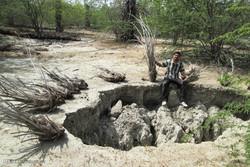 دشت های آبی رودان در خطر فروچاله ها