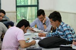 حال و هوای کتابخانه ها ی گرگان در آستانه کنکور95
