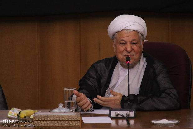 سفر آیت الله علی اکبر هاشمی رفسنجانی رئیس مجمع تشخیص مصلحت نظام به کرمان