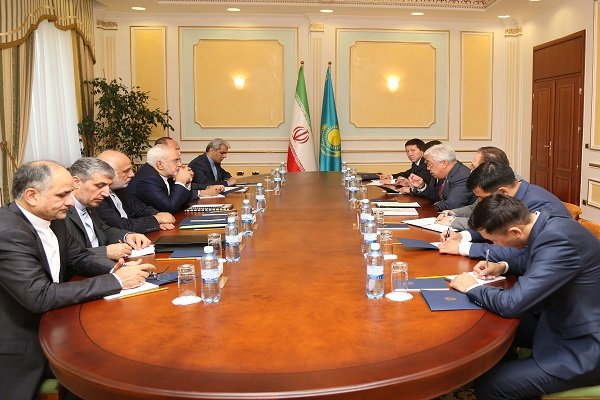 Zarif meets Kazakh counterpart in Astana