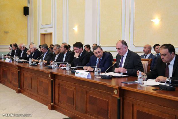 Caspian Sea littoral states' FMs meet