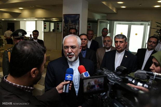 ظريف: تقرير بان كي مون حول الملف النووي الايراني قائم على معلومات خاطئة