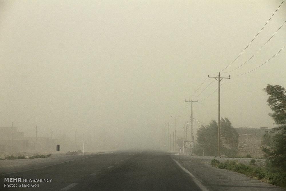 اخطاریه اداره کل هواشناسی استان فارس برای ناپایداری های پیش رو