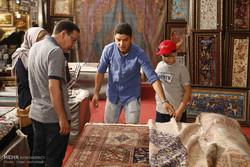 نمایشگاه فرش دستباف در همدان