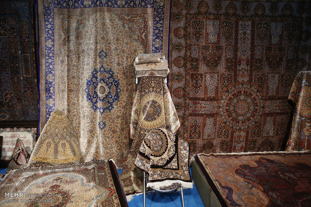 Persian Carpet Exhibition in Hamedan
