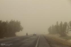 وزش باد شدید همراه با گردوخاک در سیستان و بلوچستان