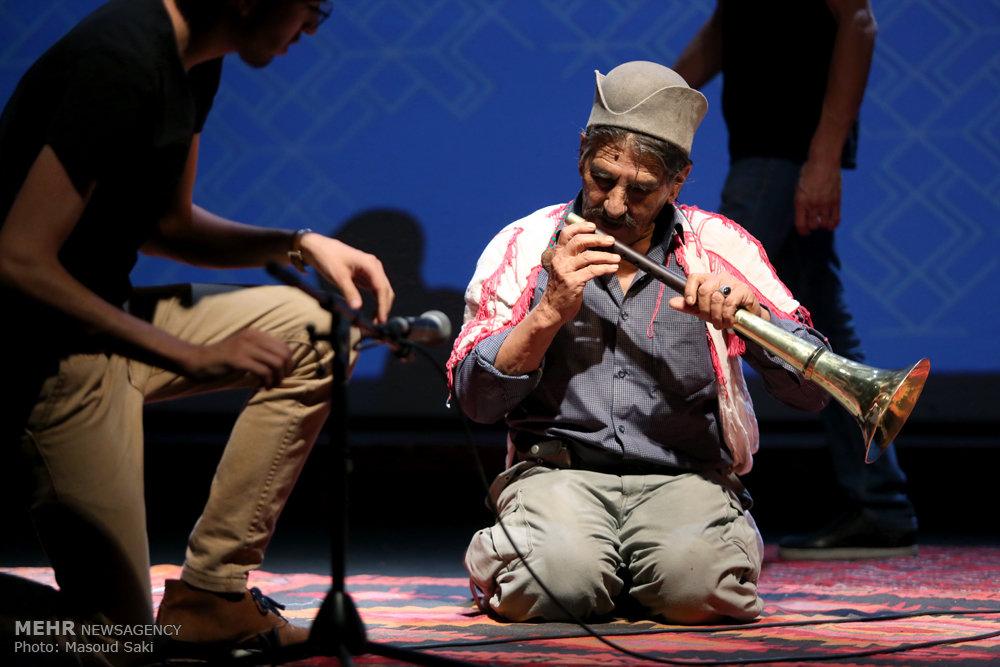 اجرای موسیقی قشقایی
