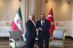 وزير خارجية ايران يلتقي نظيره التركي في اصفهان