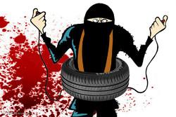 برترین کاریکاتورها؛ موج خون در جشن ملی نیس