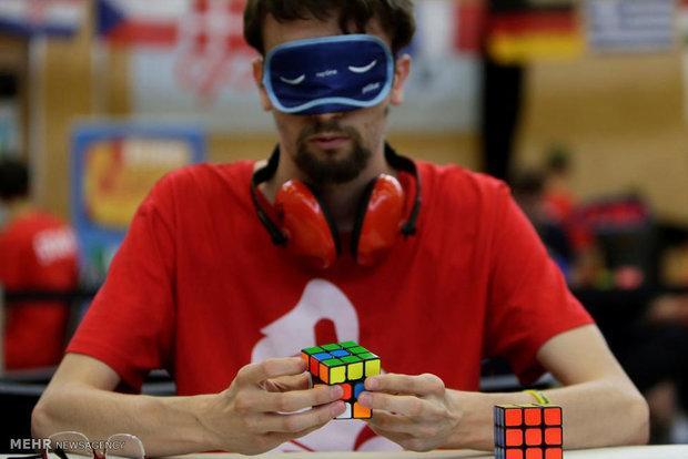 مسابقات مکعب روبیک اروپا