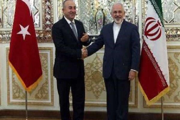 ایران اور ترکی کے وزراء خارجہ کی ٹیلیفون پر گفتگو/ نیویارک میں سہ فریقی اجلاس