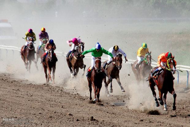 هفته دوم مسابقات کورس سوارکاری شهرستان بندرترکمن