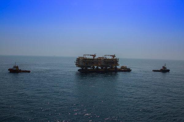 بازدهی ۱۰۰ درصدی سکوهای گازی پارس جنوبی/تولید گاز پایدار است