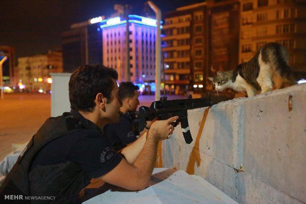 40 تصویر منتخب و دیدنی از کودتای نظامی ترکیه