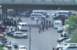 آرمینیائی پولیس کے ہیڈکوارٹر پر مسلح افراد کا حملہ اور قبضہ