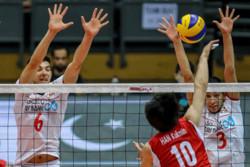 Iranian v-ballers finish runner-up at Asian U20 C'ship