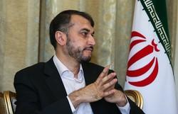 Terrorists threaten international waters: Amir-Abdollahian
