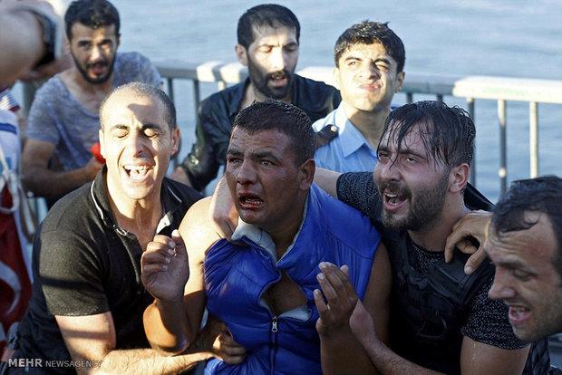 شکست کودتا در ترکیه