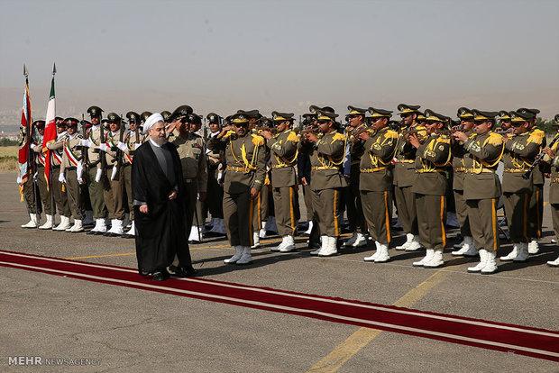 روحاني يزور محافظة كرمانشاه