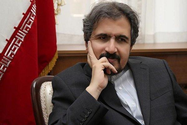 بهرام قاسمي: الاستقرار والامن في تركيا هام بالنسبة لايران