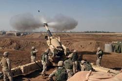 حملات توپخانه ای ارتش لبنان