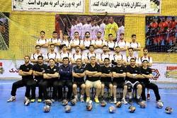 تیم هندبال جوانان ایران