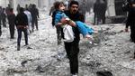 """""""التحالف الأمريكي"""" يرتكب مجزرة جديدة راح ضحيتها عشرات المدنيين بريف الرقة الغربي"""