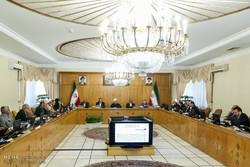 اجتماع أعضاء مجلس الوزراء بحضور الرئيس روحاني