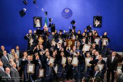 مراسم تقدیر از برگزیدگان بیست و چهارمین جشنواره دانشجوی نمونه