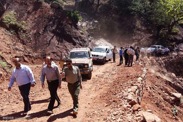 بازدید مسئولان از طرح انتقال آب سرچشمه های زرین گل به شهرستان شاهرود