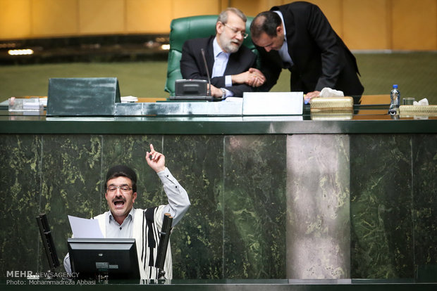 Open session of Iran's Parliament