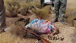 شکارچی غیر مجاز در دامغان