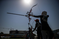 Archery competitions in Qazvin