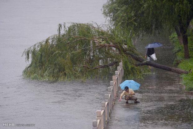 چین میں طوفانی بارشیں اور مختلف حادثات میں 12 افراد ہلاک