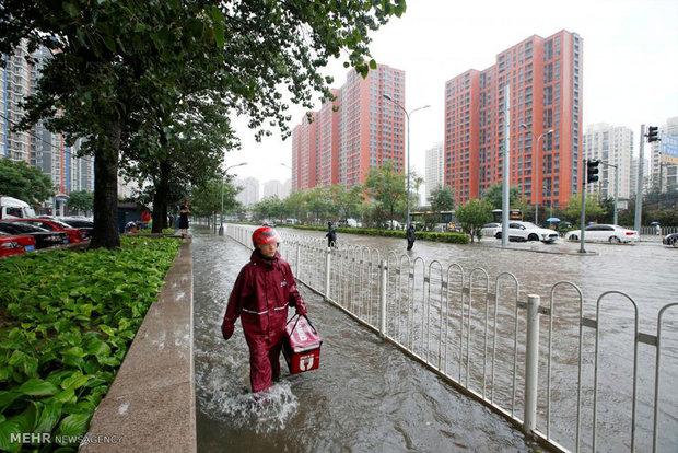 چین میں شدید بارشوں اور سیلاب کے نتیجے میں 70 افراد ہلاک