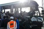 خروج اتوبوس از جاده/ ۳۷ سرنشین مجروح شدند